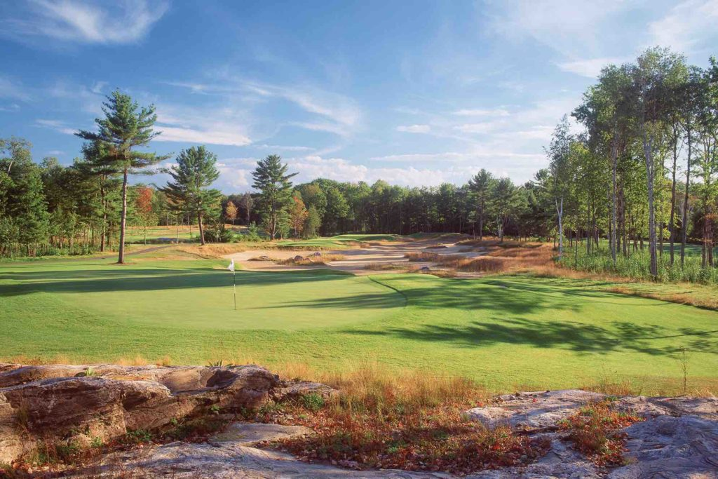 SHown here Taboo is one of the top Muskoka golf courses to play